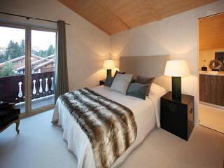 Chalet in Courchevel 1850 Antoine Chatiliez Modern Bedroom