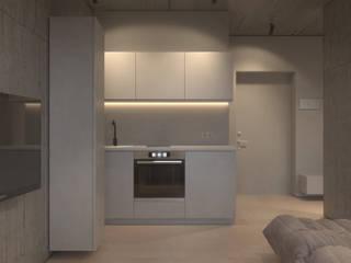 NK2: Кухни в . Автор – KDVA Architects, Минимализм