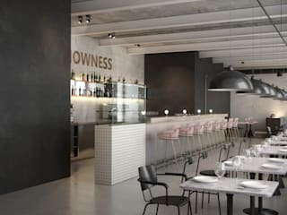 NOWNESS: Ресторации в . Автор – KDVA Architects, Скандинавский