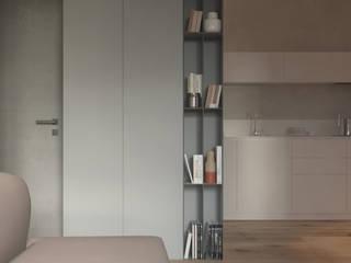 LZ3: Гостиная в . Автор – KDVA Architects