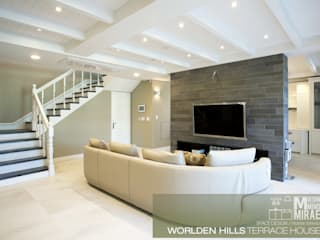 Living room by Design Mind Mirae