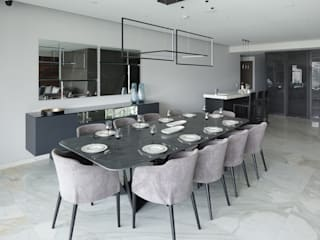 Dining room by Concepto Taller de Arquitectura