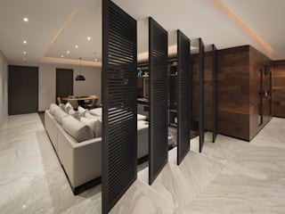 Concepto Taller de Arquitectura: Pasillos y recibidores de estilo  por Concepto Taller de Arquitectura