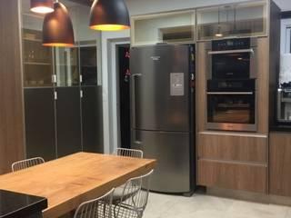 Cozinha Cozinhas modernas por Erlon Tessari Arquitetura e Design de Interiores Moderno