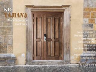 타지아나 방화원목  현관문 : 케이디우드테크 의 클래식 ,클래식