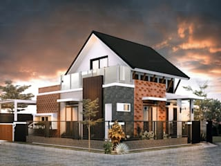 H - House:  Rumah tinggal  by Axis Citra Pama