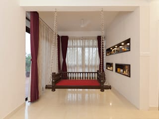 Residence No.1 at Panache, chennai:  Terrace by Synergy Architecture and Interiors