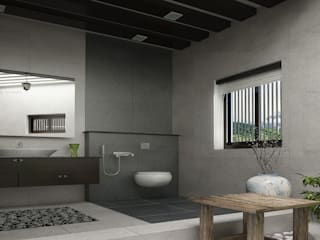 Monnaie Interiors Pvt Ltd Asian style bathrooms