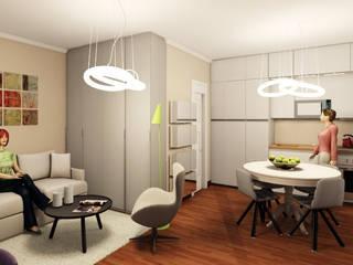 Cocinas de estilo moderno de INTERNO 75 Moderno