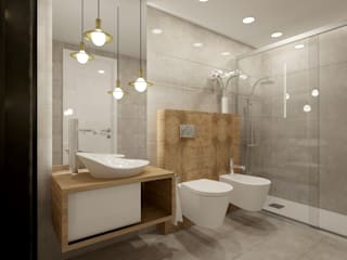 Phòng tắm by VRB arquitectura e Interiores