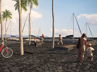 Muelle / Cocodrilario:  de estilo  por Taller Arquitectura Objetiva