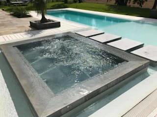 Country Saint Thomas Piletas modernas: Ideas, imágenes y decoración de Surpool - Diseño de Espacios de Agua Moderno