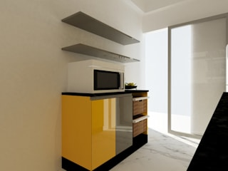 Ms. Neelam Residence:  Kitchen units by Studio Square
