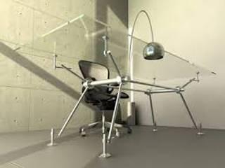 Escritorio orwell:  de estilo industrial por metro cubico estudio, Industrial