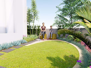 de 1mm studio | Landscape Design Tropical