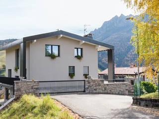 Ca' Balzi Casas modernas por Manuel Benedikter Architekt Moderno