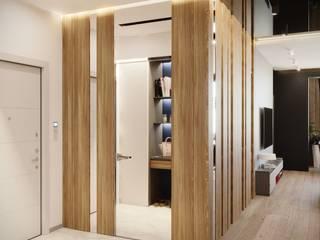 Квартира 143м2 в стиле лофт : Коридор и прихожая в . Автор – Lines
