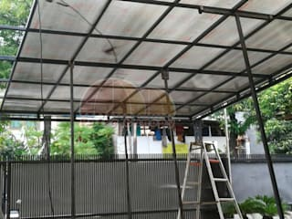 Canopy Polycarbonate Jakarta Putra Canopy Balconies, verandas & terraces Accessories & decoration Besi/Baja White