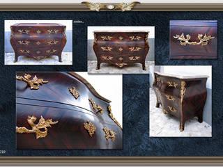 Cómoda de estilo Luís XV:   por Miguel Tomaz - Conservação e Restauro