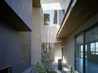 Jardines de estilo  por Architect Show Co.,Ltd, Moderno