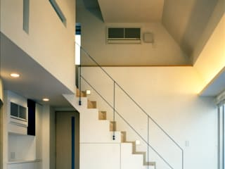 Escaleras de estilo  por Architect Show Co.,Ltd, Moderno