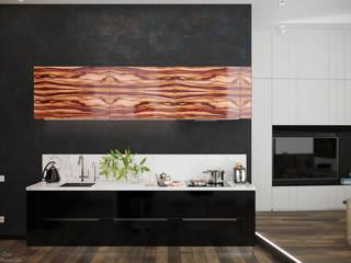 Cozinhas minimalistas por Студия интерьерного дизайна happy.design Minimalista