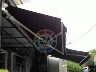Braja Awning & Canopy Balkon, Veranda & TerrasseAccessoires und Dekoration Textil Braun