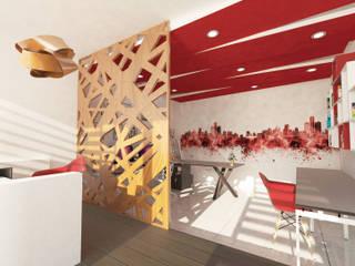 Study/office by ÖQ Arquitectos, Modern