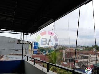 Braja Awning & Canopy Balconies, verandas & terraces Accessories & decoration Plastic Transparent