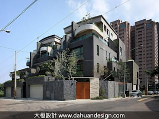 大桓設計顧問有限公司 Modern houses Marble Grey