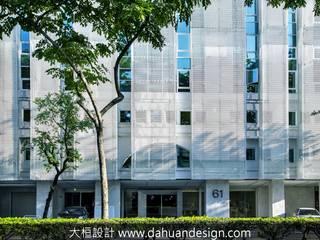 大桓建築設計 | 台中 | 卡爾登飯店 根據 大桓設計顧問有限公司 現代風 金屬