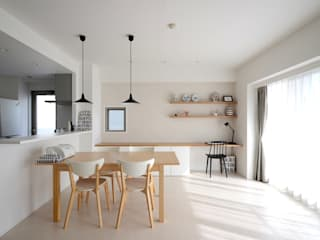 Scandinavian style dining room by 株式会社ラブ・アーキテクチュア Scandinavian