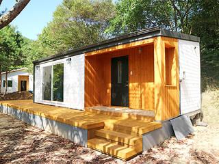 작은 소형주택이 대세!!! 요즘 핫한 이동식목조주택 19평 단층구조: TINYHOME의