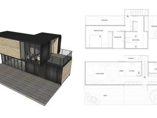 貨櫃屋住宅改造方案規劃 根據 SECONDstudio