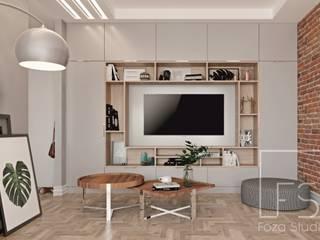 PasteLove Nowoczesny salon od Foza Studio Nowoczesny