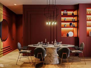 гостиная: Гостиная в . Автор – Duplex Apartment Интерьерные решения