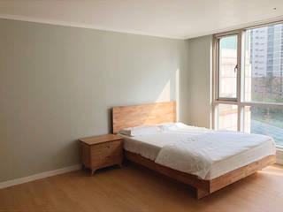 용산구 문배동 지오베르크 (주상복합) 33평: 덴보드의  침실
