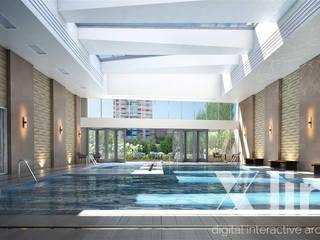 One 88 by Xline 3D Moderner Fitnessraum von Xline 3D Digital Interactive Architecture Modern