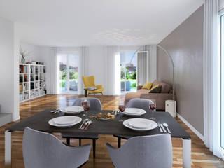 Grosswiesen by Xline 3D Moderne Esszimmer von Xline 3D Digital Interactive Architecture Modern