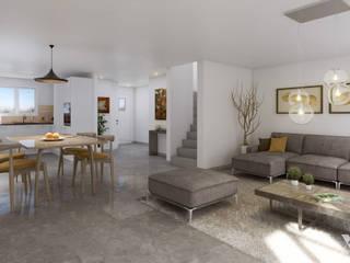 Grosswiesen by Xline 3D Moderne Wohnzimmer von Xline 3D Digital Interactive Architecture Modern