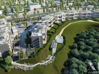 Xline 3D Casas de estilo moderno