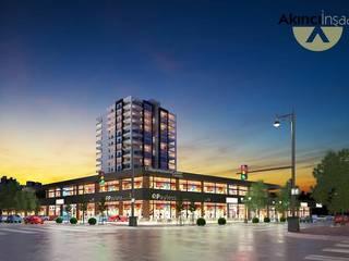 Akıncı Merkez Plaza ve Ofis İnşaatları Özkanoğlu İnşaat Modern