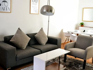 Estudio Raya Living room Grey