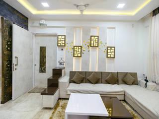 Modern Living Room by aasha interiors Modern