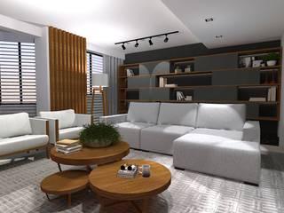 Salas de estilo moderno de Cláudia Legonde Moderno