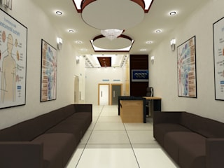 Clinic Desing And Decor   :   by Adam Vector creation