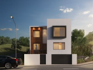 Maisons modernes par Adelaide João Campos Lda Moderne