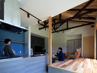 リビング: ㈱ライフ建築設計事務所が手掛けたです。