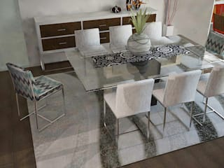 Eclectic style dining room by SindiyFiorella Eclectic