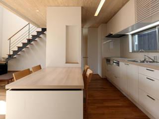 小郡の住宅 モダンデザインの ダイニング の MAアーキテクト一級建築士事務所 モダン